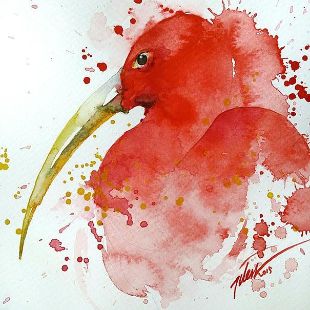 dipinti-acquerelli-animali-colorati-tilen-ti-01