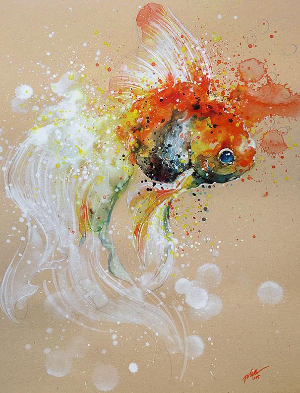 dipinti-acquerelli-animali-colorati-tilen-ti-02