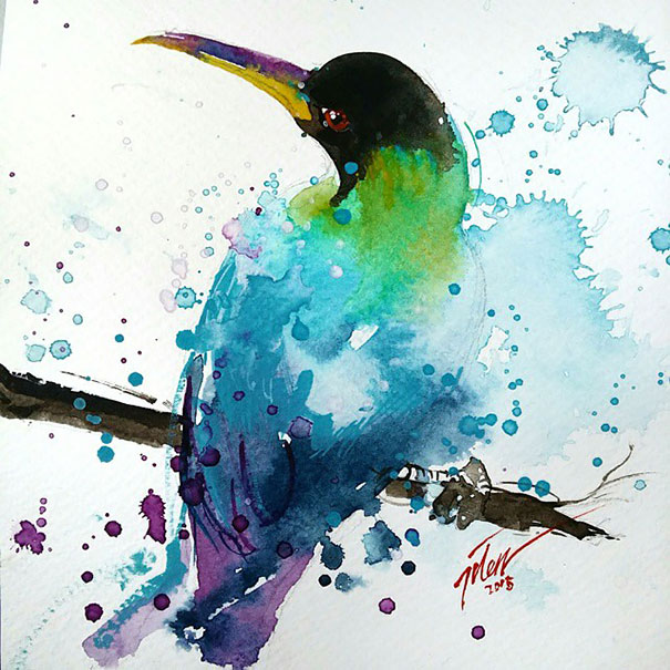 dipinti-acquerelli-animali-colorati-tilen-ti-08