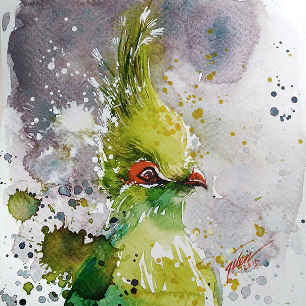 dipinti-acquerelli-animali-colorati-tilen-ti-09