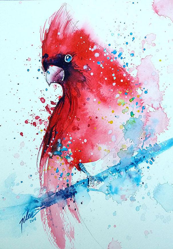 dipinti-acquerelli-animali-colorati-tilen-ti-14