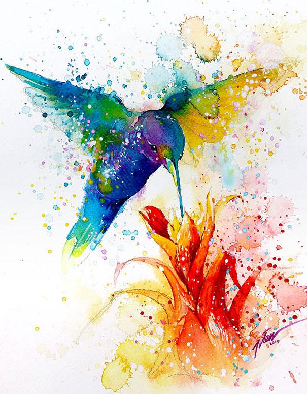 dipinti-acquerelli-animali-colorati-tilen-ti-15