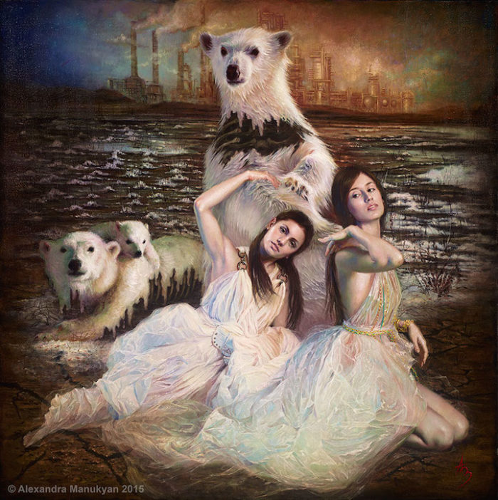 dipinti-surreali-olio-ambiente-inquinamento-arte-alezandra-manukyan-04