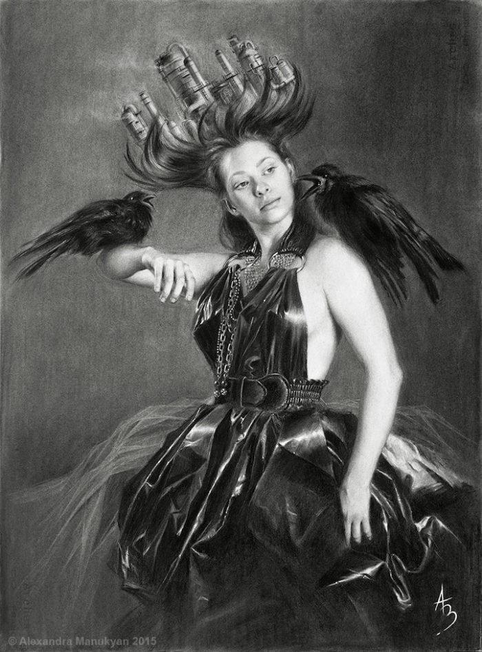 dipinti-surreali-olio-ambiente-inquinamento-arte-alezandra-manukyan-06