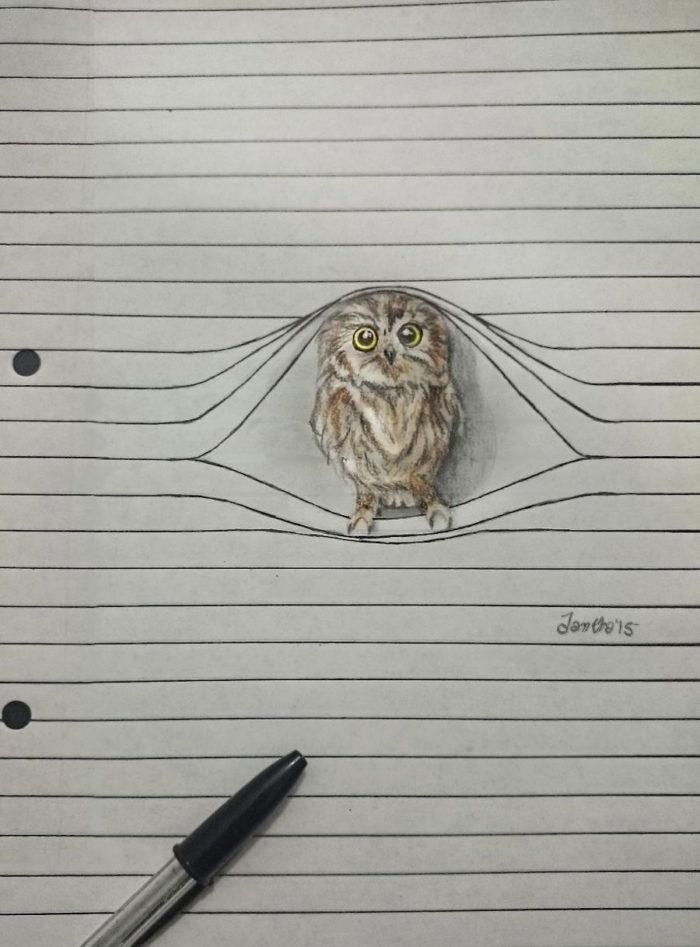disegni-animali-righe-quaderno-iantha-naicker-2