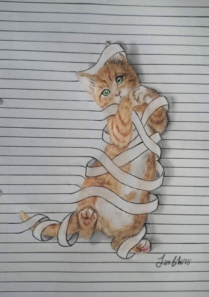 disegni-animali-righe-quaderno-iantha-naicker-7