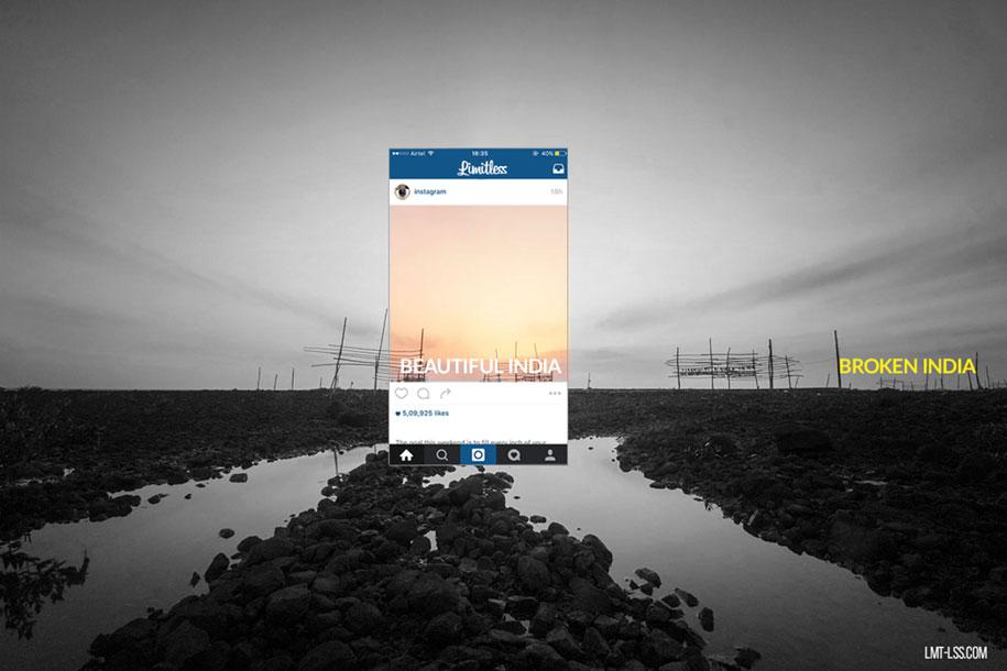 foto-ritagliate-india-instagram-povertà-inquinamento-broken-india-limitless-1