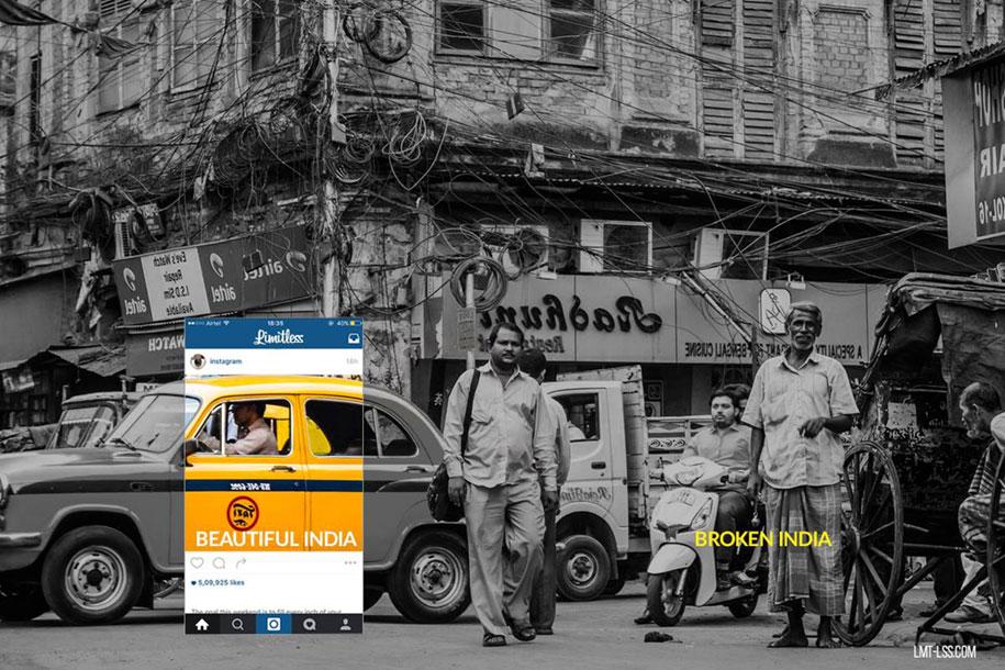 foto-ritagliate-india-instagram-povertà-inquinamento-broken-india-limitless-2