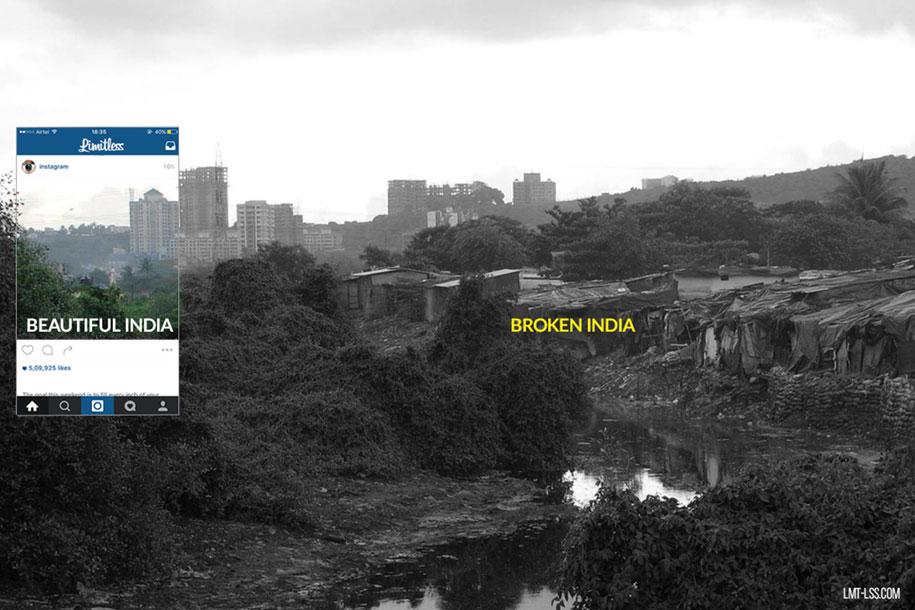 foto-ritagliate-india-instagram-povertà-inquinamento-broken-india-limitless-3