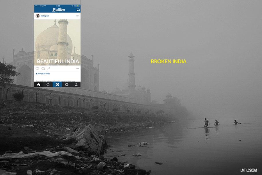 foto-ritagliate-india-instagram-povertà-inquinamento-broken-india-limitless-4