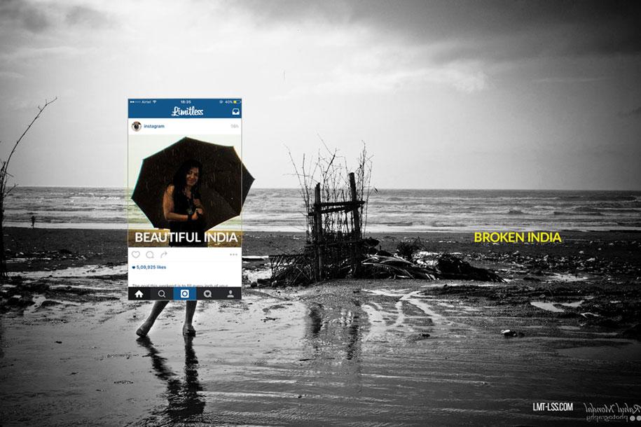 foto-ritagliate-india-instagram-povertà-inquinamento-broken-india-limitless-6