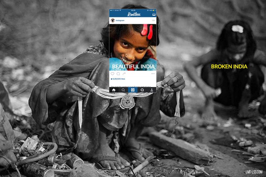 foto-ritagliate-india-instagram-povertà-inquinamento-broken-india-limitless-7