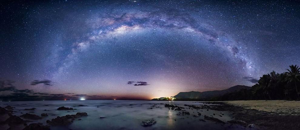 Immagini Mozzafiato Della Via Lattea Nei Cieli Notturni Di