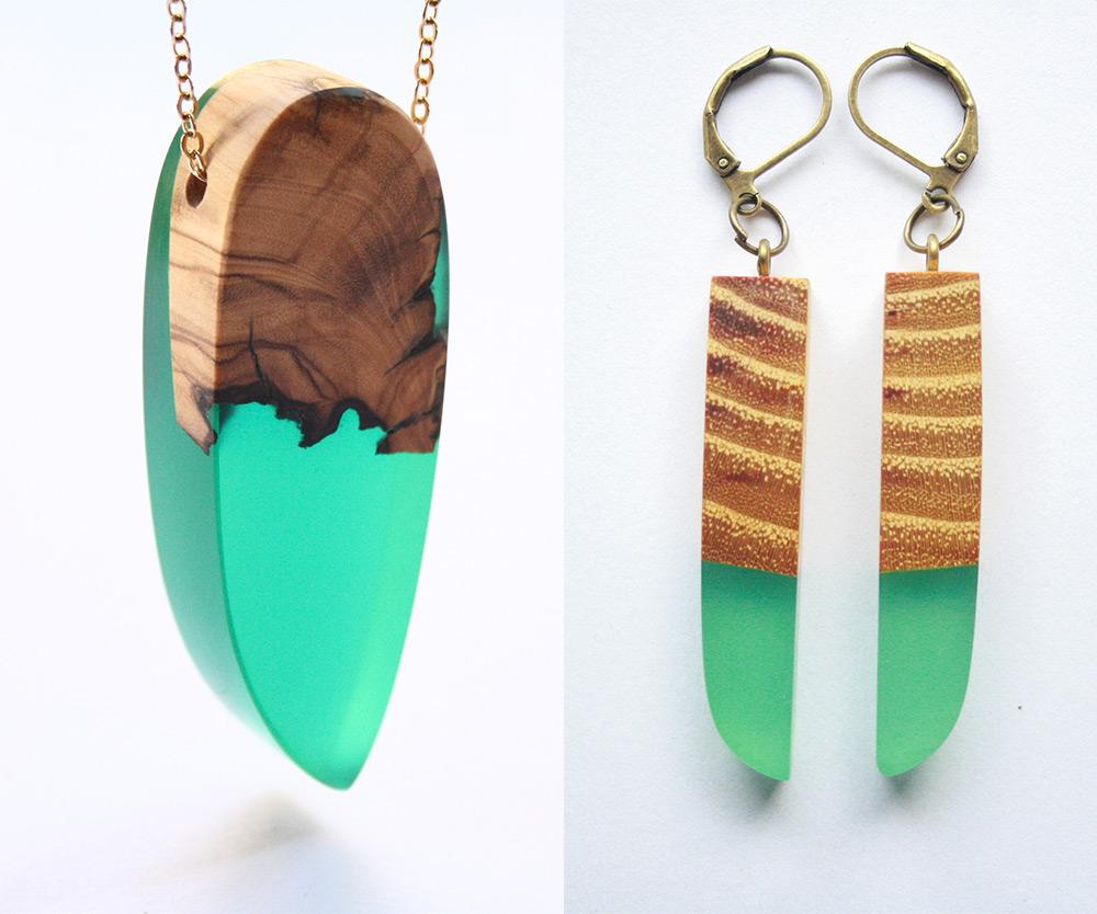 Amato gioielli-artigianali-legno-resina-ciondoli-anelli-orecchini-boldb  TW49