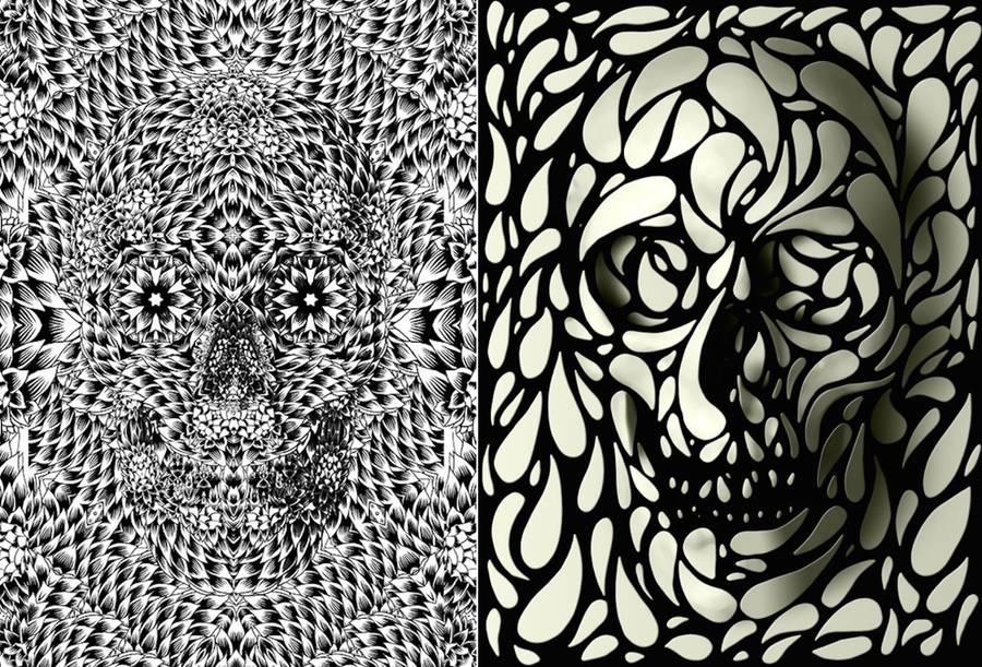 illustrazione-teschi-motivi-grafici-ali-gulec-13