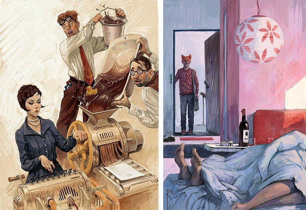 illustrazioni-critica-sociale-messaggi-sessuali-waldemar-von-kazak-13