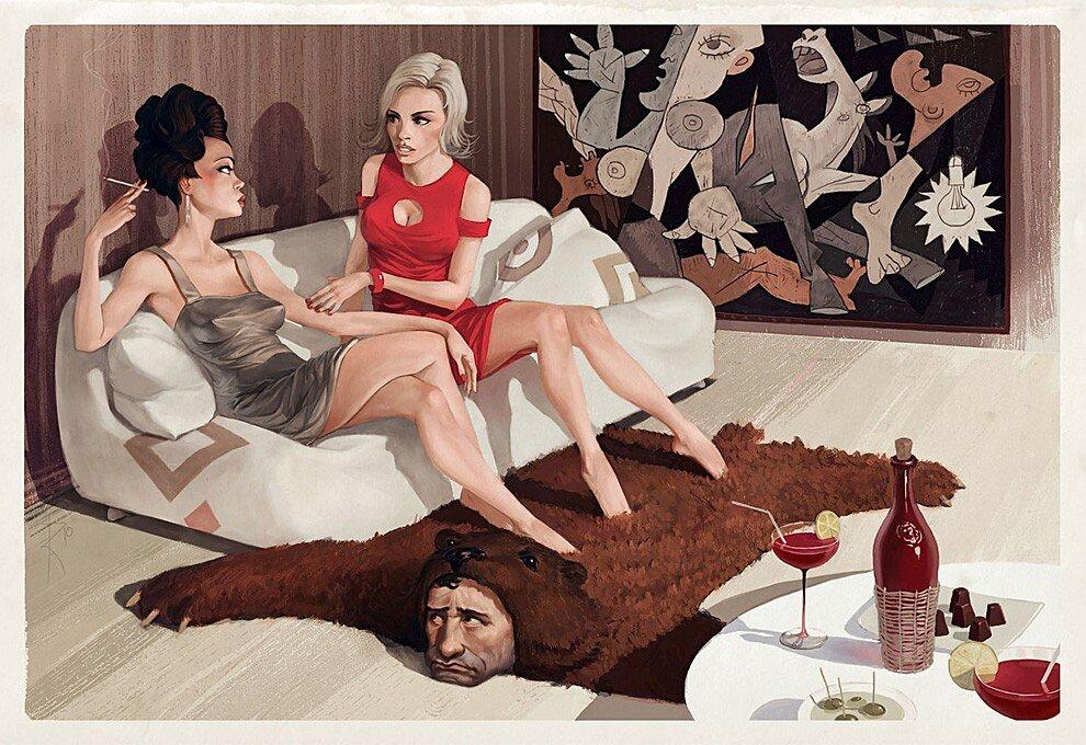 illustrazioni-critica-sociale-messaggi-sessuali-waldemar-von-kazak-27