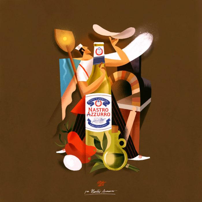 illustrazioni-pubblicità-peroni-nastro-azzurro-riccardo-guasco-4