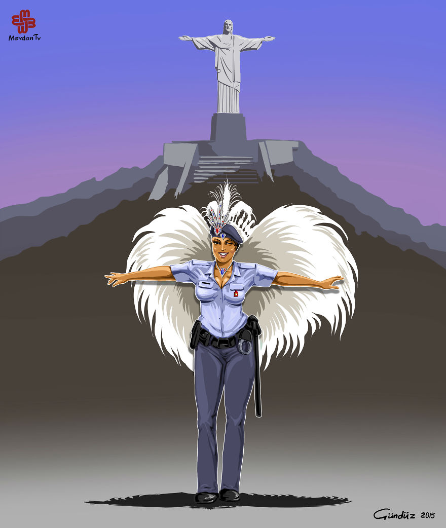 illustrazioni-satiriche-vignette-gunduz-agayev-brasile-polizia__880