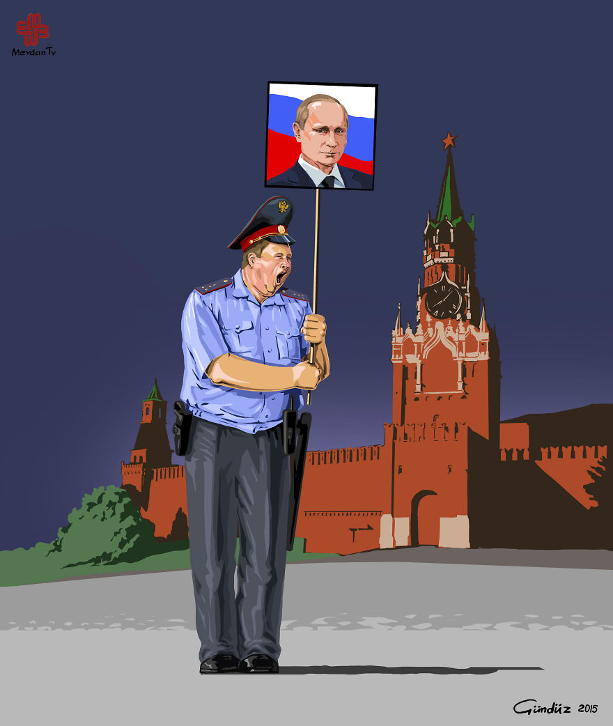 illustrazioni-satiriche-vignette-gunduz-agayev-russia-polizia