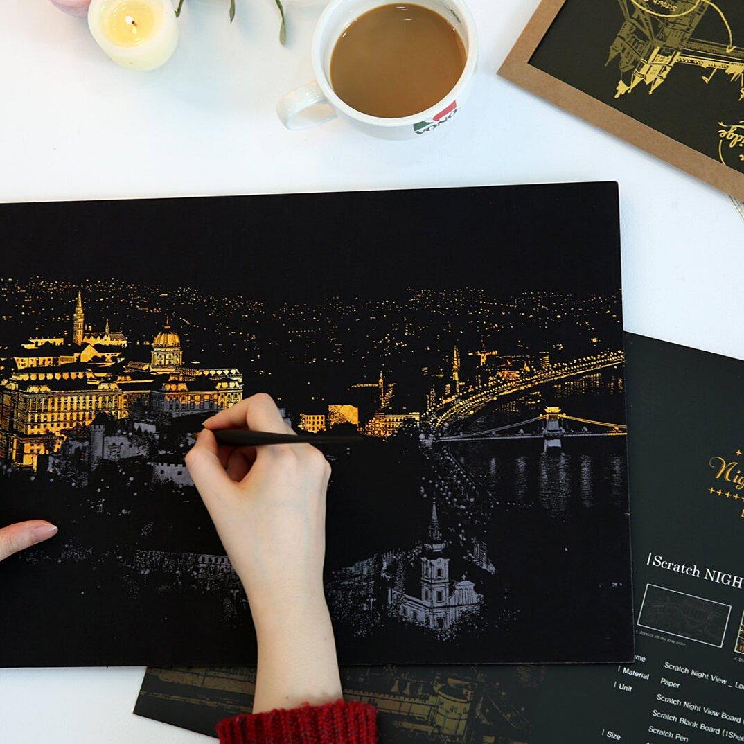 immagini-da-grattare-citta-illuminate-notte-famose-adulti-lago-design-budapest-2-k