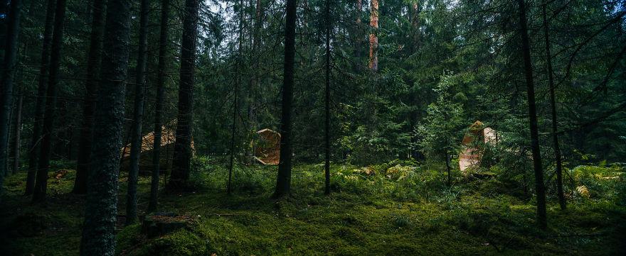 installazione-megafoni-giganti-legno-boschi-estonia-08
