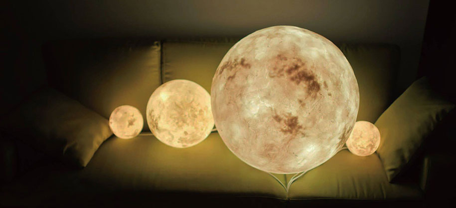 Una Lampada Che Porta La Luna Nella Tua Stanza Keblog