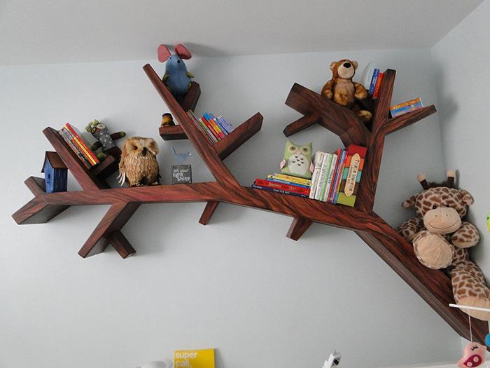 45 librerie creative per la casa keblog for Casa a forma di v