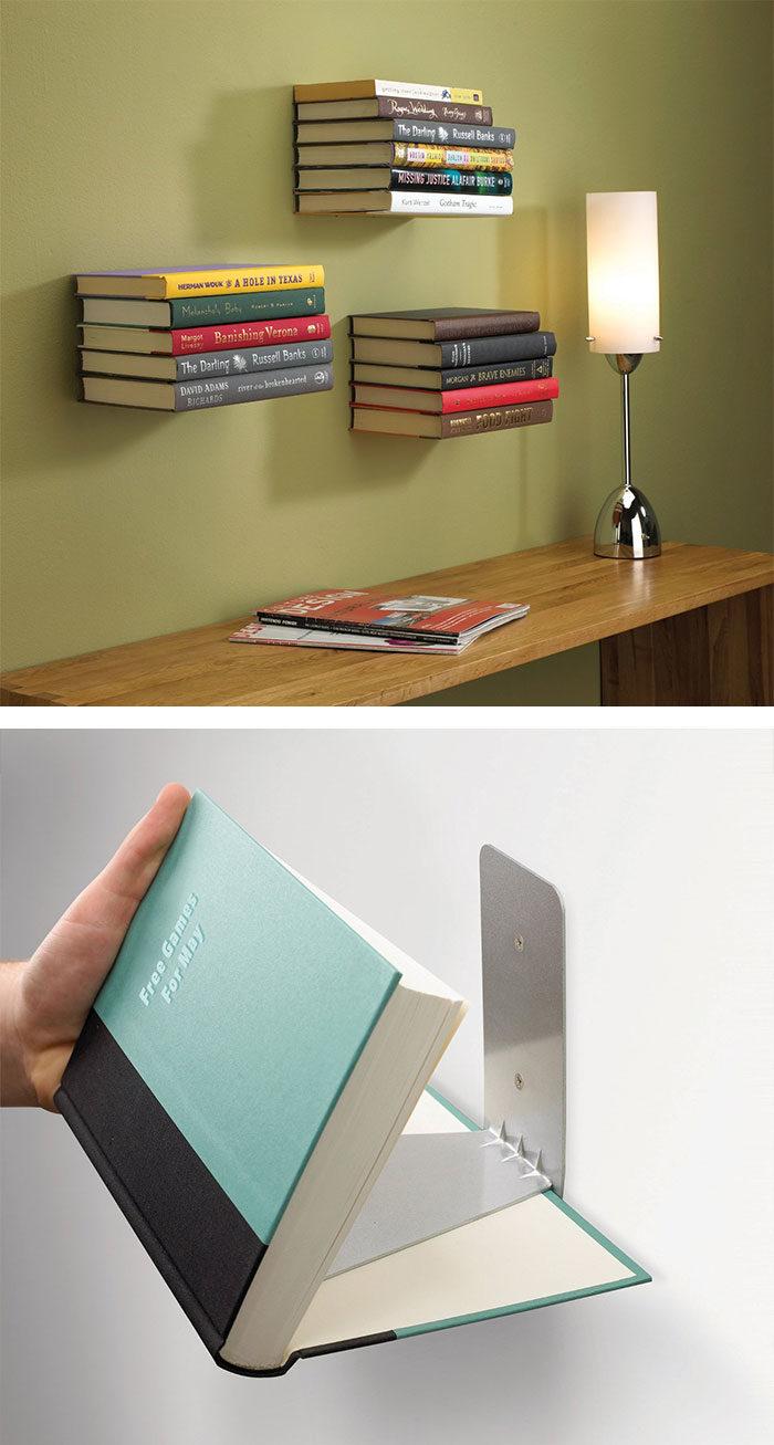 Libreria Per Libri Pesanti 50 librerie creative per la casa