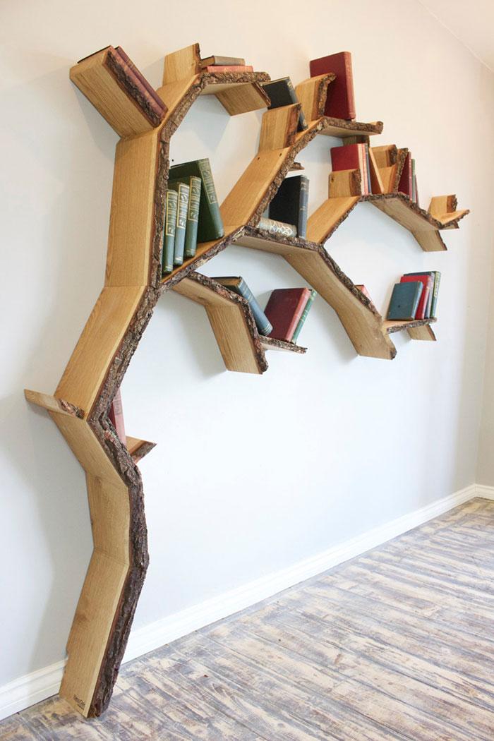 45 librerie creative per la casa keblog. Black Bedroom Furniture Sets. Home Design Ideas