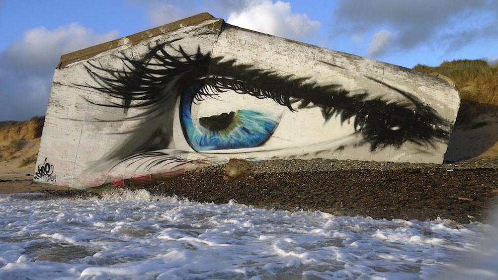 occhio-street-art-spiaggia-francia-cece-aerosoleil-2
