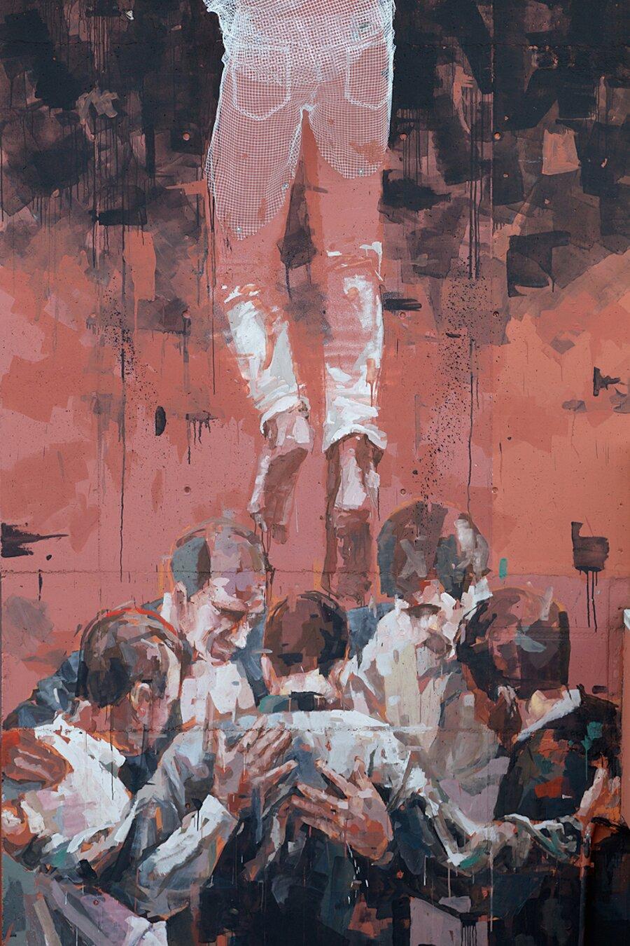 scultura-filo-metallo-street-art-edoardo-tresoldi-gonzalo-borondo-chained-bicocca-milano-2