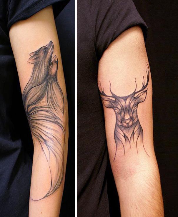 tatuaggi-lineari-animali-natura-sanne-vaghi-13