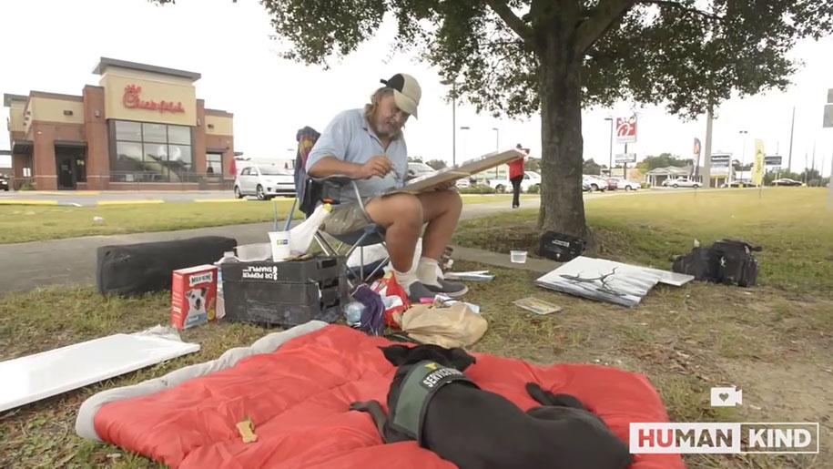 artista-senzatetto-esce-dalla-povertà-vendendo-quadri-jon-masters-2