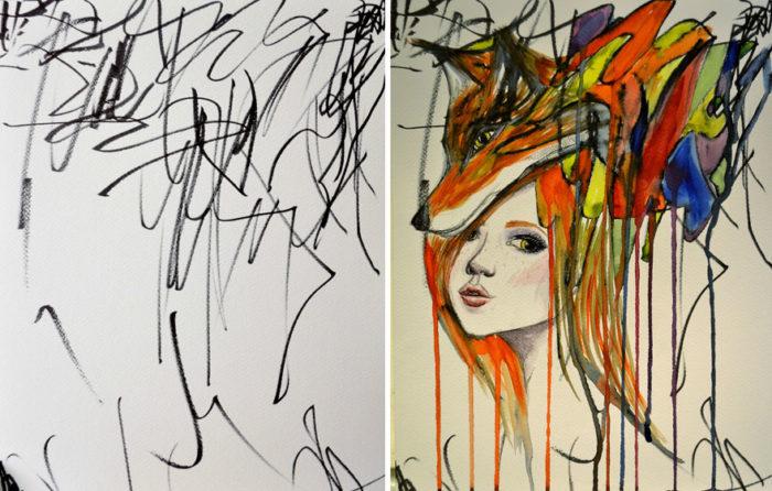 artista-trasforma-disegni-bambini-in-dipinti-3
