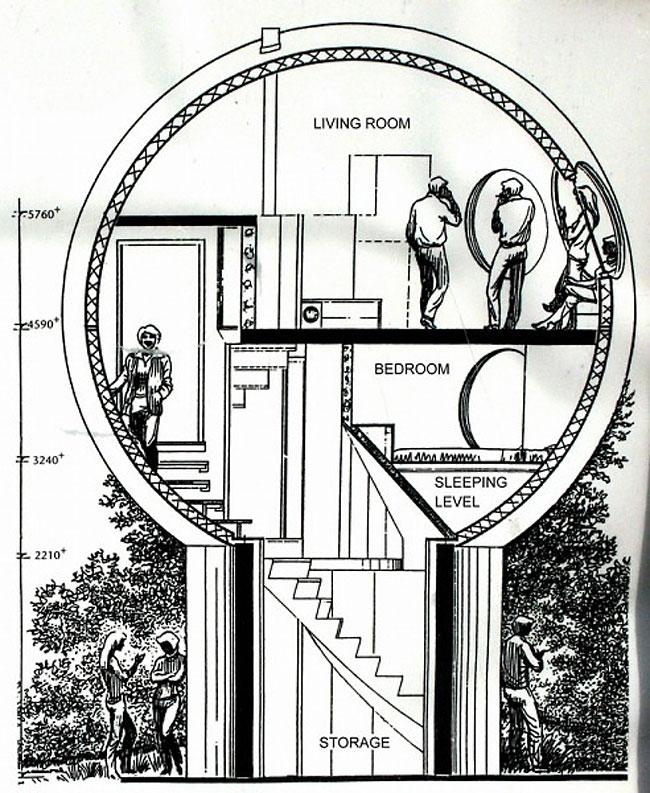 case-sferiche-bolwoningen-architettura-dries-kreijkamp-14