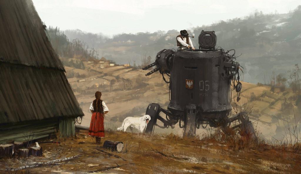 dipinti-fantascienza-1920-contadini-robot-jakub-rozalski-1