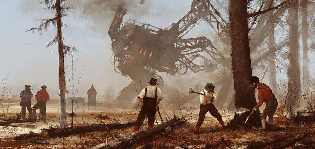 dipinti-fantascienza-1920-contadini-robot-jakub-rozalski-6