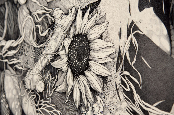 disegni-inchiostro-donne-puntinismo-benze-4