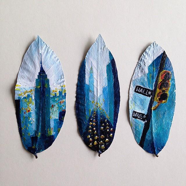foglie-secche-dipinte-arte-joanna-wirazka-01