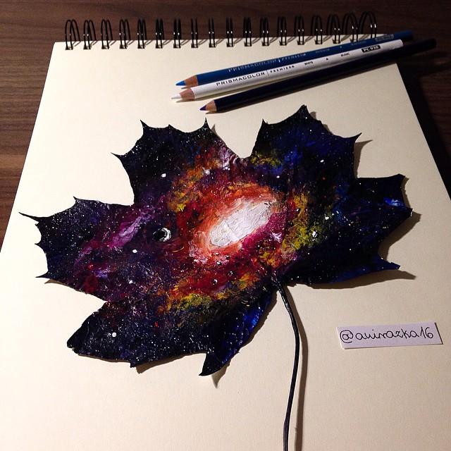 foglie-secche-dipinte-arte-joanna-wirazka-03