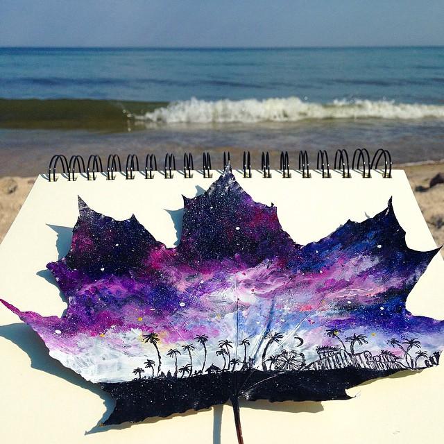foglie-secche-dipinte-arte-joanna-wirazka-08
