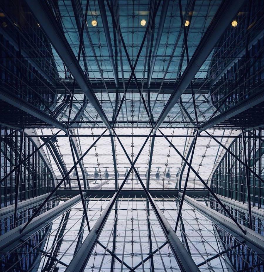 Splendide foto dell 39 architettura moderna di londra keblog for Architettura moderna londra