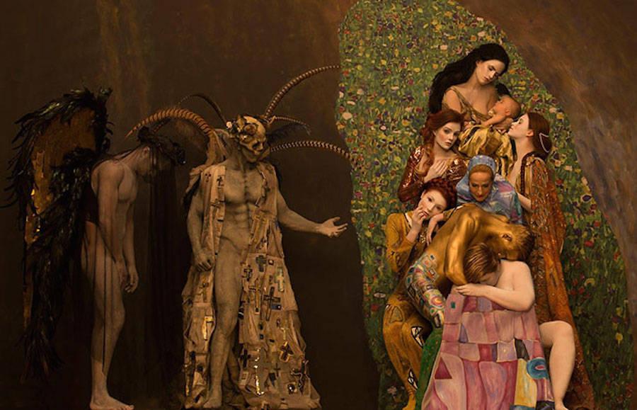 foto-modelle-ricreano-dipinti-gustav-klimt-inge-prader-life-ball-06
