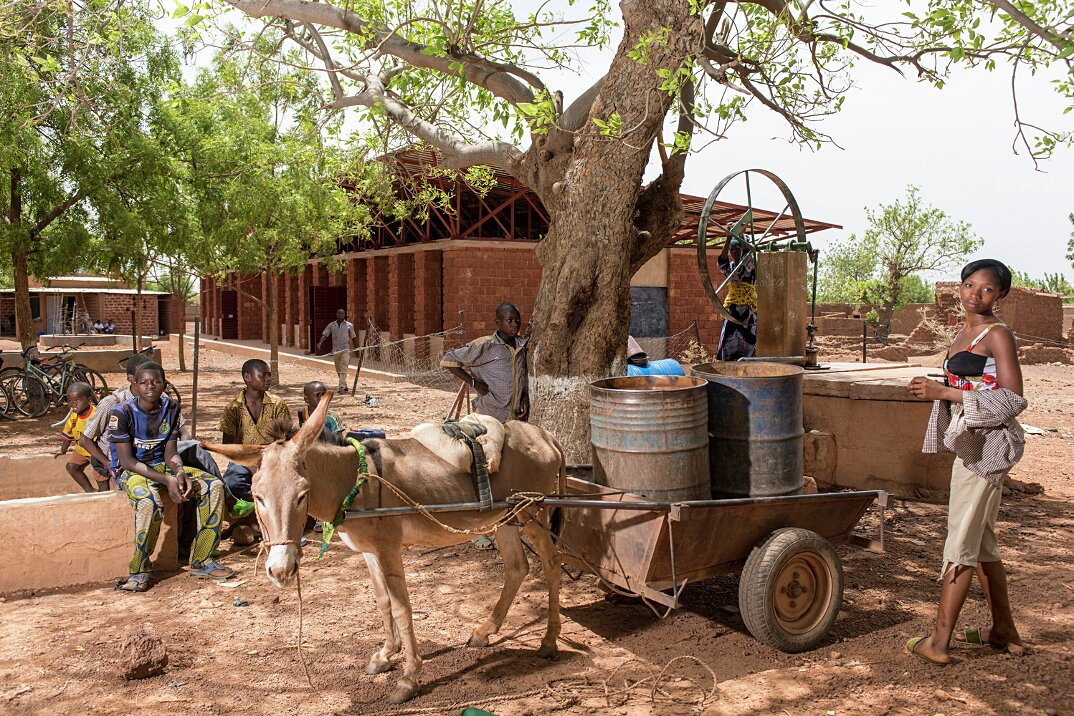 Gourcy School, Burkina Faso, designed by Article 25, 6 May 2014