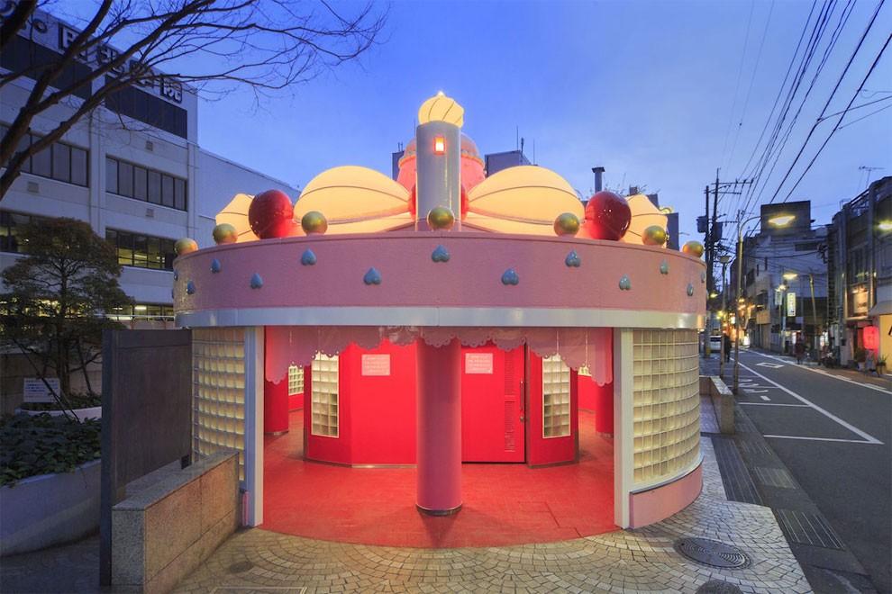 installazione-arte-gabinetto-pubblico-dessert-giappone-melting-dream-minako-nishiyama-oita-toilennale-1