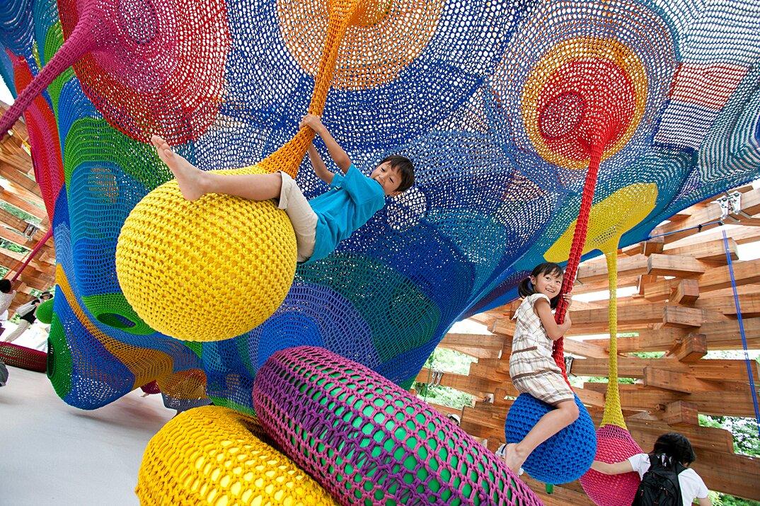 Popolare Installazioni artistiche che arrivano al cuore dei bambini - KEBLOG KQ77