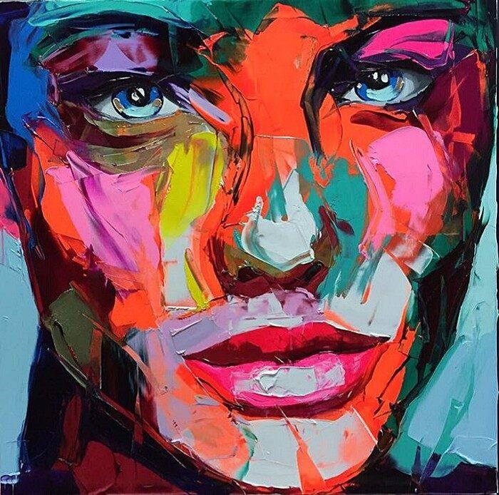 ritratti-colorati-dipinti-spatola-tela-francoise-nielly-01