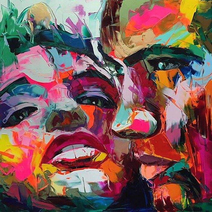 ritratti-colorati-dipinti-spatola-tela-francoise-nielly-03