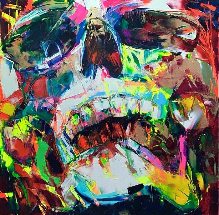 ritratti-colorati-dipinti-spatola-tela-francoise-nielly-05